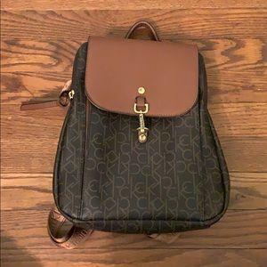 Calvin Klein mini purse backpack